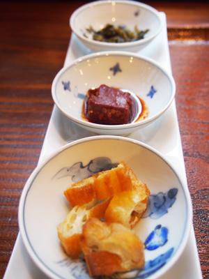 岩茶荘-お粥トッピング